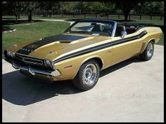 1971 Dodge Challenger R/T Convertible 340/275 HP