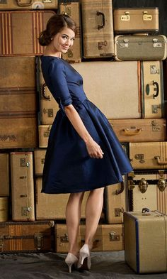 Nutcracker Royal Blue Dress