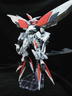 GUNDAM GUY: 1/144 Gundam Barbatos Lupus Armor Hashmal - Custom Build