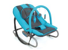 Hamaca Oui azul Olmitos.Hamaca de bebé, Hamaca de recién nacido. Hamaca azul, Hamaca para niño. Oferta 56.63 euros