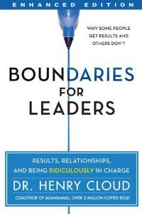 10   30   25  0  Boundaries for Leaders: An Interview with Dr. Henry Cloud