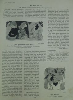 Reference and cartoon of 'Ancell and His 40 Painted Pigeons' in Punch magazine 12 October 1949 Punch Magazine, Glasgow School Of Art, 12 October, Mural Painting, Dundee, Cartoon, Wall Mural, Cartoons, Comic