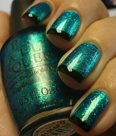 Chloe's Nails: OPI Catch Me in Your Net Funky French!