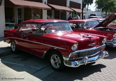 Historic Downtown DeLand, FL Cruise-In. June 16, 2012. Photo by Luis » The Motor Bookstore, www.themotorbookstore.com