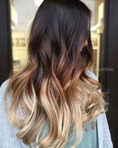 Balayage High Lights To Copy Today - Americano - Simple, Cute, And Easy Ideas For Blonde Highlights, Dark Brown Hair, Curles, Waves, Brunettes, Natural Looks And Ombre Cuts. These Haircuts Can Be Done DIY Or At Salons. Don't Miss These Hairstyles! - https://www.thegoddess.com/balayage-high-lights-to-copy