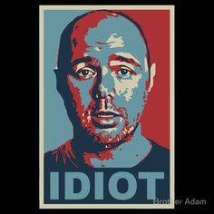 Idiot - Karl Pilkington from An Idiot Abroad