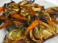 Recette de Fenouil et carottes au four (sans lactose)