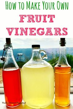 Have you ever wondered how to make that tasty fruit vinegar? You can, and it& easy & healthy! Here are my complete directions for how to make your own raw apple cider vinegar and other fruit vinegars. You& also find out about how the chemis Raw Apple Cider Vinegar, Coconut Oil Weight Loss, Vinegar With The Mother, Fermentation Recipes, Natural Cough Remedies, Sleep Remedies, Natural Cures, Vinegar, Deserts