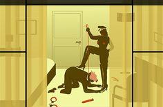 Emiliano Ponzi's dark illustrated glimpse into the lives of others  Slave
