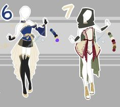 .::Adoptable Collection 21 (2-4, 6-7 OPEN)::. by Scarlett-Knight.deviantart.com on @DeviantArt