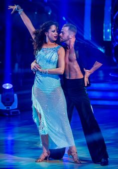 Week 3 Natalie & Artem Rumba to Love The Way You Lie by Rihanna Scored (9-9-9-9) = 36pts