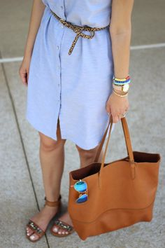 Lilly Style: classic shirt-dress