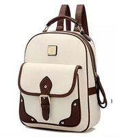 designer backpacks high quality school bags for teenagers famous brand women backpack leather bolsas mochila femininas sac a dos Vintage Backpacks, Girl Backpacks, School Backpacks, Leather School Backpack, Faux Leather Backpack, Pu Leather, Leather Backpacks, Leather Fashion, Vintage Leather