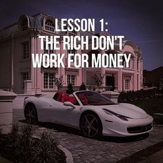 Classic wisdom from Rich Dad cc: @michael_louis_ www.michaellouis.com - Entrepreneurs, if you haven't read Rich Dad, Poor Dad by @therealkiyosaki, I highly recommend you invest in your self education and pick it up - Of course you need to work for your money initially, but eventually you need to find a way for your money to work for you and multiply if wealth/financial freedom is your goal - Tag someone who needs to see this - #entrepreneur #dailysparktv - . . . . . . . . . Inspiration...