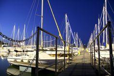 Port de Saint-Cyprien, 3ème port de plaisance européen (66750, France)