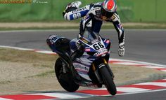 WSB. Often forgotten as Spies teammate in the year he walked the title, Tom Sykes struggled with the cross plane Yamaha R1