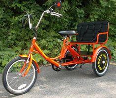 Buddy Trike - 2 Passenger 6 Speed Tricycle