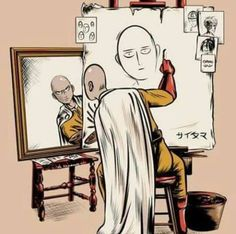 "valhallahalvorson: "" Did a Norman Rockwell parody with Saitama. This one took … valhallahalvorson: "" Did a Norman Rockwell parody with Saitama. This one took a while… My Teepublic "" One Punch Man Anime, Saitama One Punch Man, One Punch Man Funny, Anime One, Saitama Sensei, Saitama Anime, Hero Manga, Bakugou Manga, Otaku"
