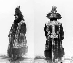Russia | Yakut woman in feast dress. Siberia. ca. 1902 | © Taken during the Jesup North Pacific Expedition; photographer Waldemar Jochelson