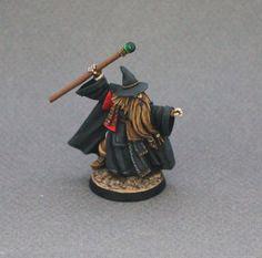 Painted Brandle Birchstaff (Wizard, Mage, Sorcerer) - Reaper - D&D, Pathfinder #ReaperMiniatures