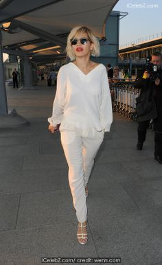 Rita Ora arrives at Heathrow Airport after a whirlwind 24 hours in Cannes http://icelebz.com/events/rita_ora_arrives_at_heathrow_airport_after_a_whirlwind_24_hours_in_cannes/photo1.html