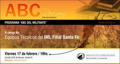 Programa ABC del Militante en Recreo Santa Fe