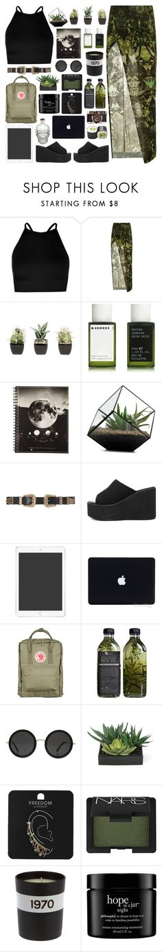 """""""set 3 ♡ they say women, they will come and they will go"""" by manicpiixiedreamgirl ❤ liked on Polyvore featuring Boohoo, Helmut Lang, Korres, B-Low the Belt, Fjällräven, The Row, Lux-Art Silks, Topshop, NARS Cosmetics and Bella Freud"""