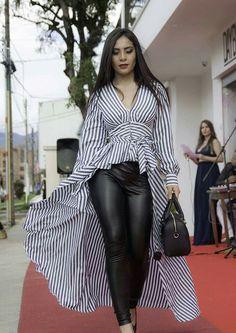 Bell Sleeves, Bell Sleeve Top, Leather Skirt, Skirts, Women, Fashion, Vestidos, Blouses, Moda