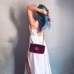 New Gucci bag 🌷💜