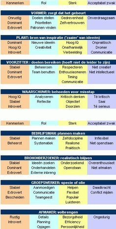 thesis belbin teamrollen