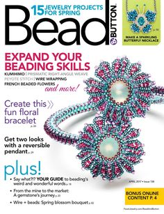 Bead and Button April 2017