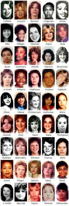 I just watched the movie on LMN network about this and cried throughout, evil man Gary Leon Ridgway- Known as the Green River Killer - Victims