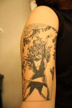 The Top 10 Best Comic Book Tattoos http://ifanboy.com/articles/the-top-10-best-comic-book-tattoos/
