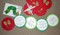 Hungry caterpillar invites