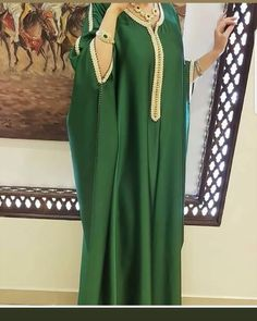 Workwear Fashion, Abaya Fashion, Abaya Designs, Latest African Fashion Dresses, Women's Fashion Dresses, Simple Gown Design, Abaya Mode, Morrocan Dress, Hijab Stile