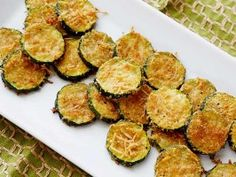 Zucchini Parmesan Crisps : Recipe says 25-30. I checked at 20 and half were burned. I think the key is to make them a bit thicker. Overall, really tasty. ~Kari