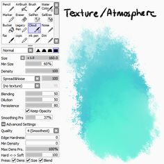 Art Tutorial Paradise — lexxercise: I've been getting a lot of asks. Digital Painting Tutorials, Digital Art Tutorial, Painting Tools, Art Tutorials, Paint Tool Sai Tutorial, Water Color Markers, Sai Brushes, Art Tips, Digital Paintings