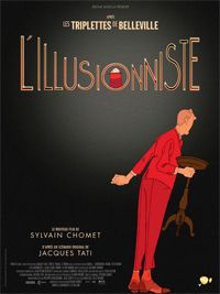 Currently Saturday morning viewing-The Illusionist (2010 film). A French film set in Scotland, I like it!
