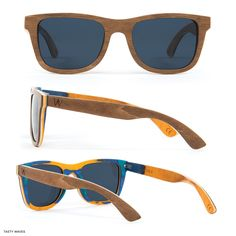283d399a8 Our bestselling wood frames, the Sierra are tried and true classic wood  wayfarer sunglasses that