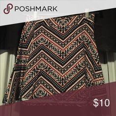 Tribal print circle skirt! Like new condition! Charlotte Russe Skirts Mini