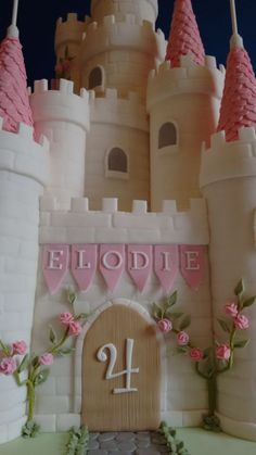 Princess Castle Cake                                                       …