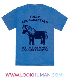 There are few things in life the bring as much joy as Li'l Sebastian. Show some love for the Pawnee Parks and Recreation department, and the legend that was Li'l Sebastian in this retro design. Perfect for lovers of a good comedy and pop culture.