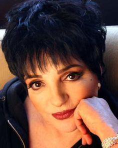 Actress, singer Liza Minnelli, daughter of actress, singer Judy Garland