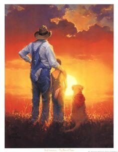 Grandpa & boy   The Best Of Times by Jack Sorenson