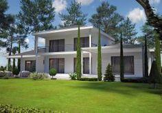 Azur Logement Provencal, vous présente une villa contemporane modèle PINEDE CONTEMPORAINE 130m2 Villa à étage avec au RDC, grande pièce de vie avec salon/séjour/cuisine, WC. A l'étage, 3 chambres do [...]