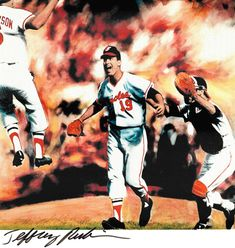 0ded4fc7ac3 Dave McNally was front and center in the victory celebration after helping  pitch the Baltimore Orioles to a sweep of the Los Angeles Dodgers during  the 1966 ...