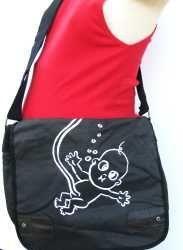 Floating Baby© Messenger Diaper Bag