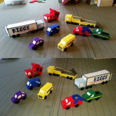 Mini Cars and trucks