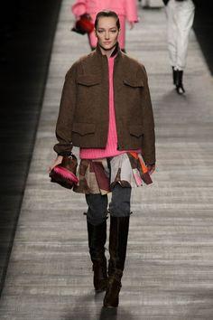Fendi at Milan Fashion Week Fall 2014 - Runway Photos