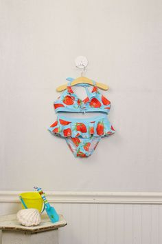 Size 12 Girls Two-Piece Swim Suite by Gymboree | New, still has tags. $16.99  | Moxie Jean: Upscale Resale